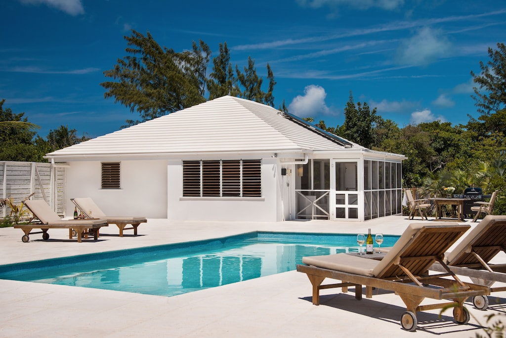 turks and caicos private oasis with pool