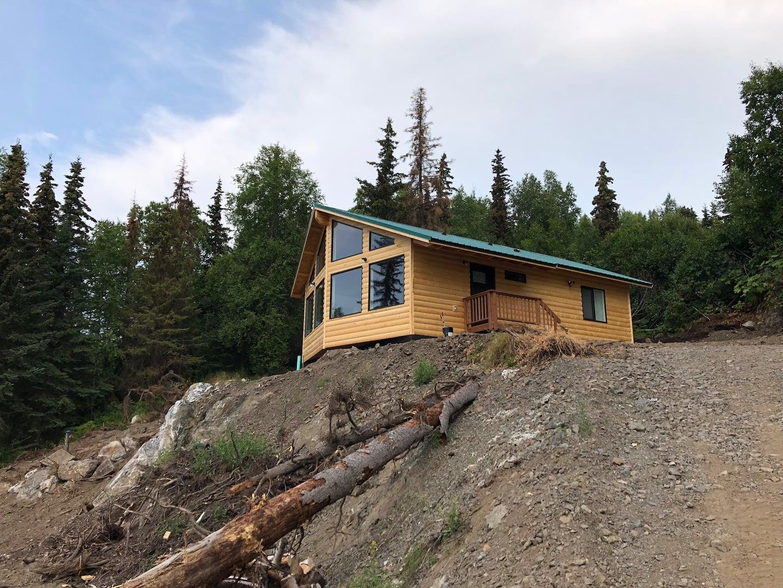 Airbnb Alaska Cabin