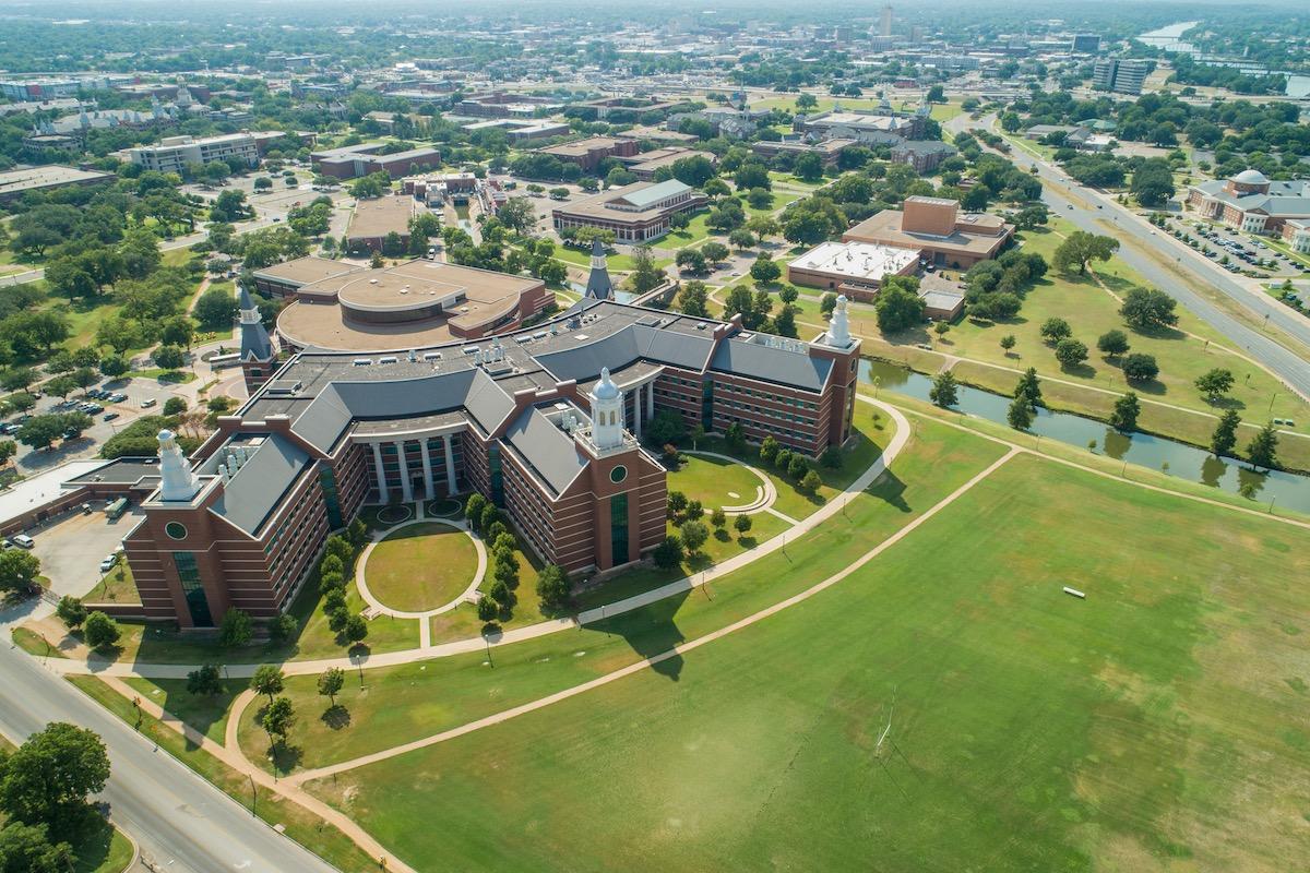 Waco Texas Baylor University college campus