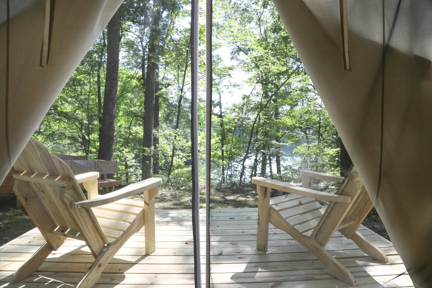 Camp Lake Grinnell Glamping in New Jersey
