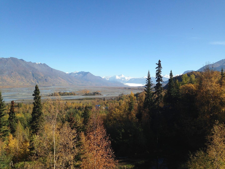 Jonhson Cabin Alaska Airbnb