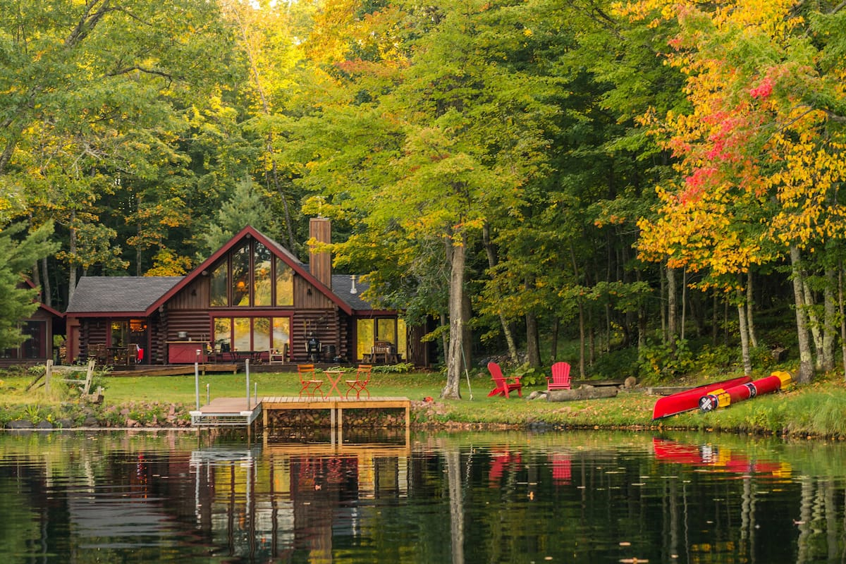 Luxury Cabin Glamping Wisconsin