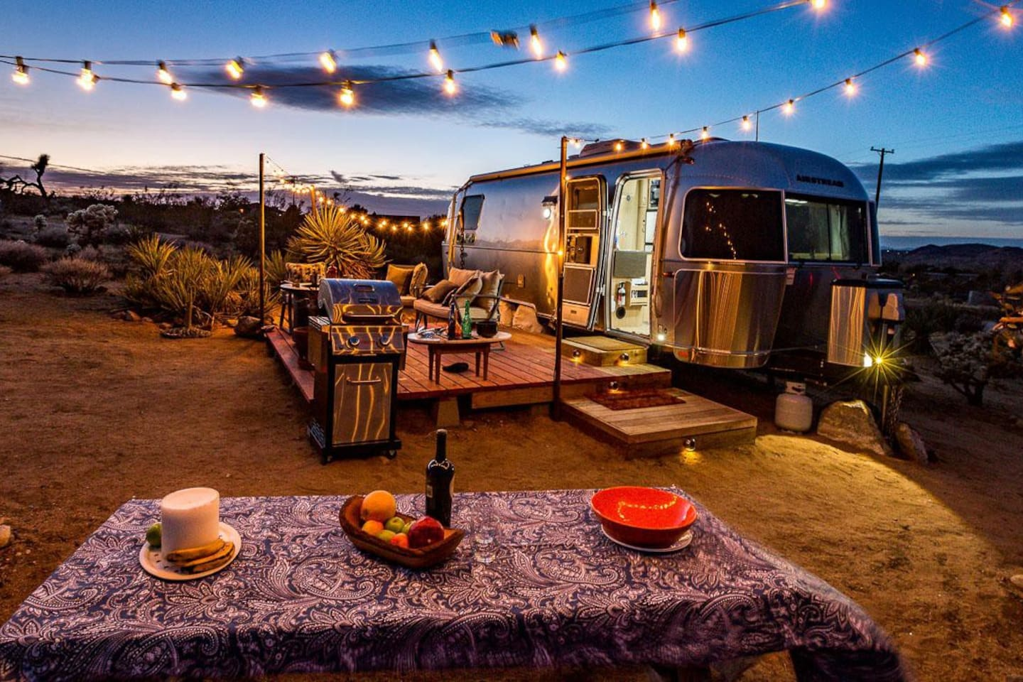 Magical Airstream - Glamping in Joshua Tree