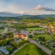 Pigeon Forge and Sevierville Tennessee Drone Aerial