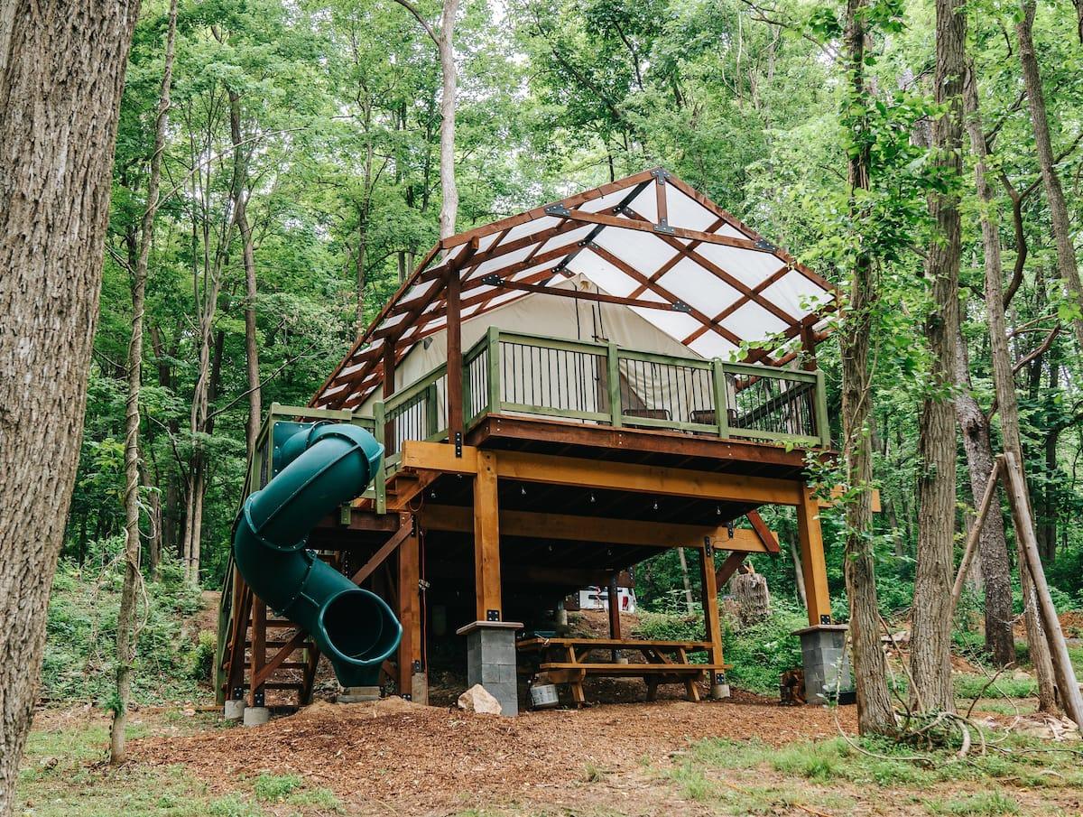 Treehouse Glamping Pennsylvania