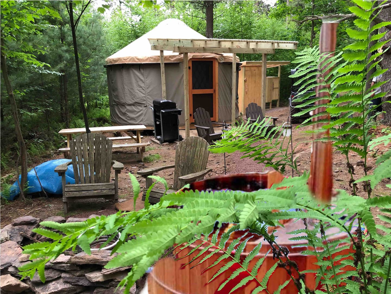 Yurt Glamping Pennsylvania