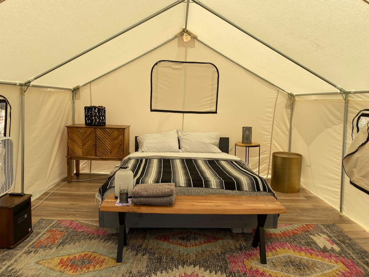 Yurt Glamping in Joshua Tree National Park