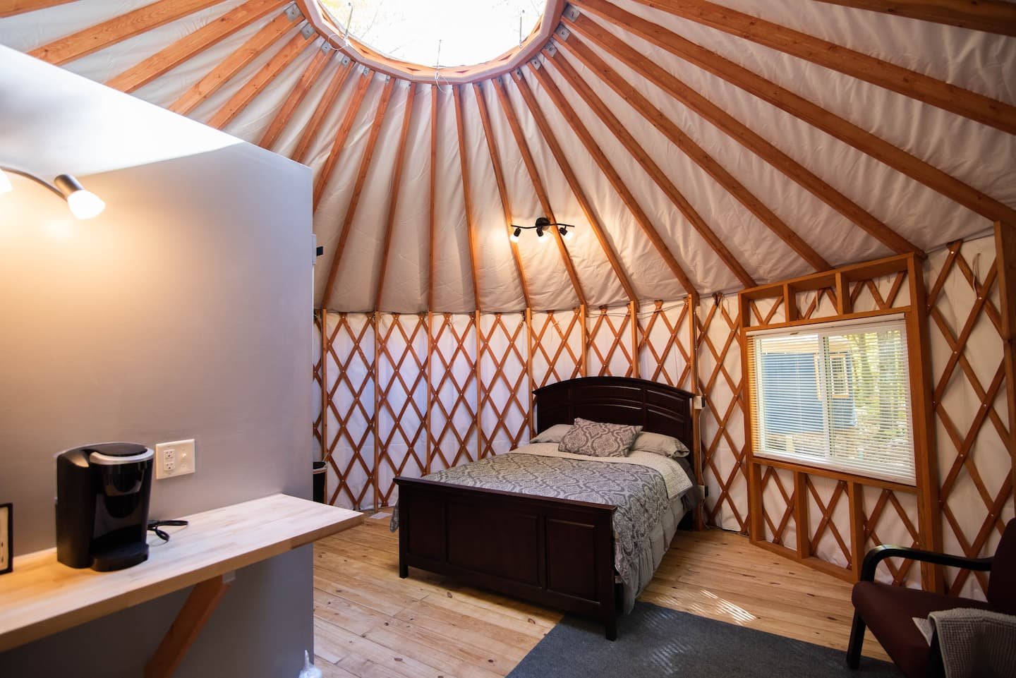 Yurt Glamping in Wisconsin