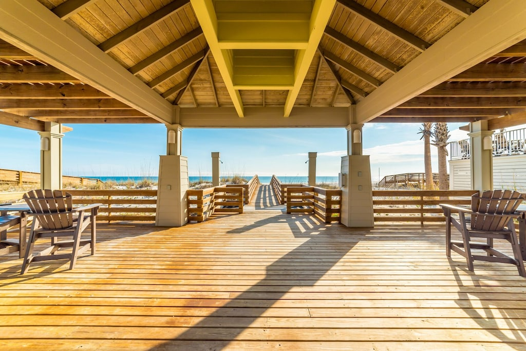 orange beach alabama beach front home boardwalk