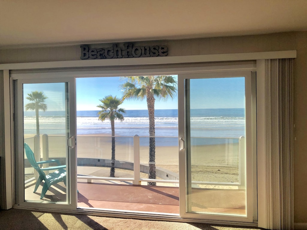 pismo beach SLO oceanfront penthouse vacation rental