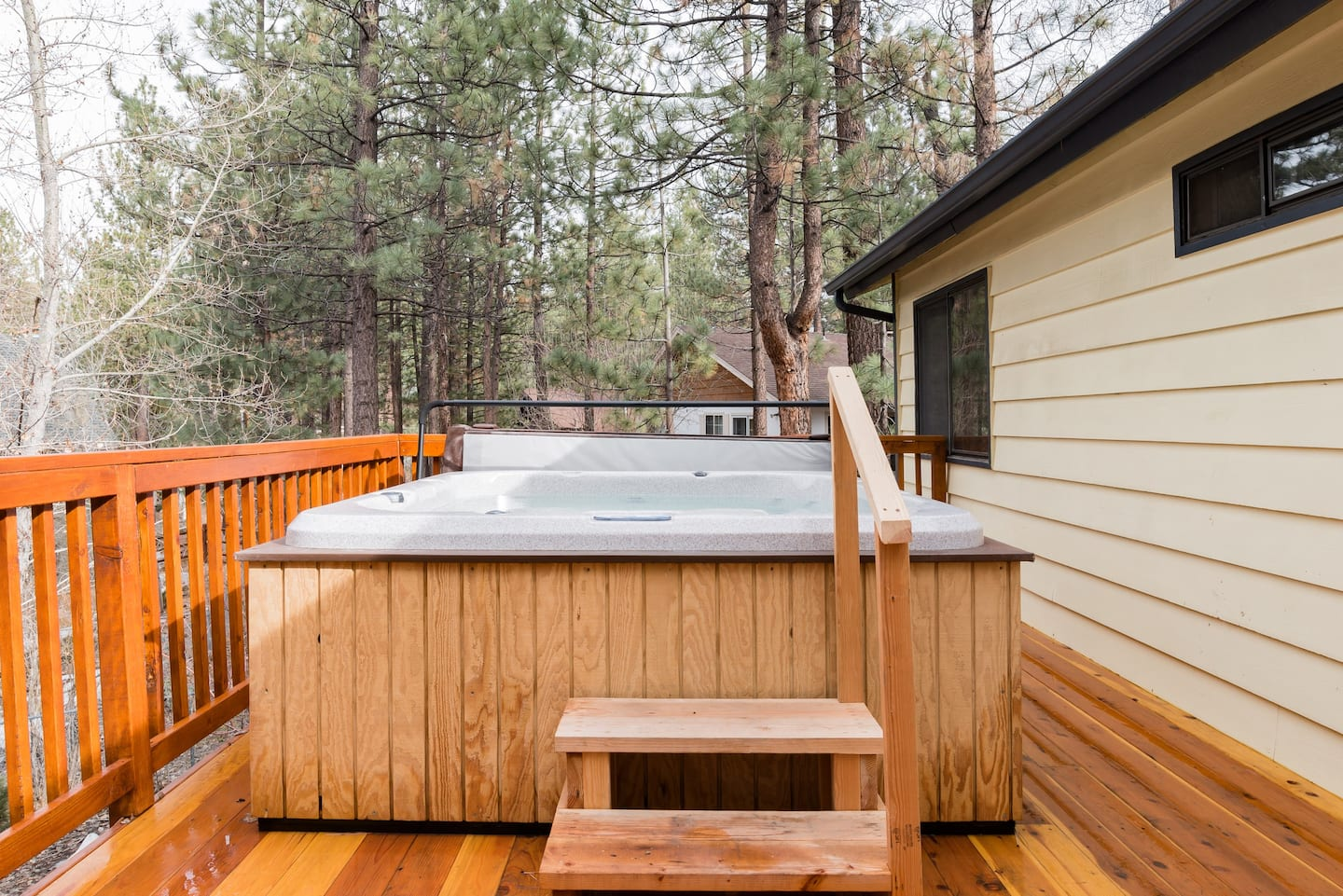 Airbnb Big Bear Cabin Hot Tub