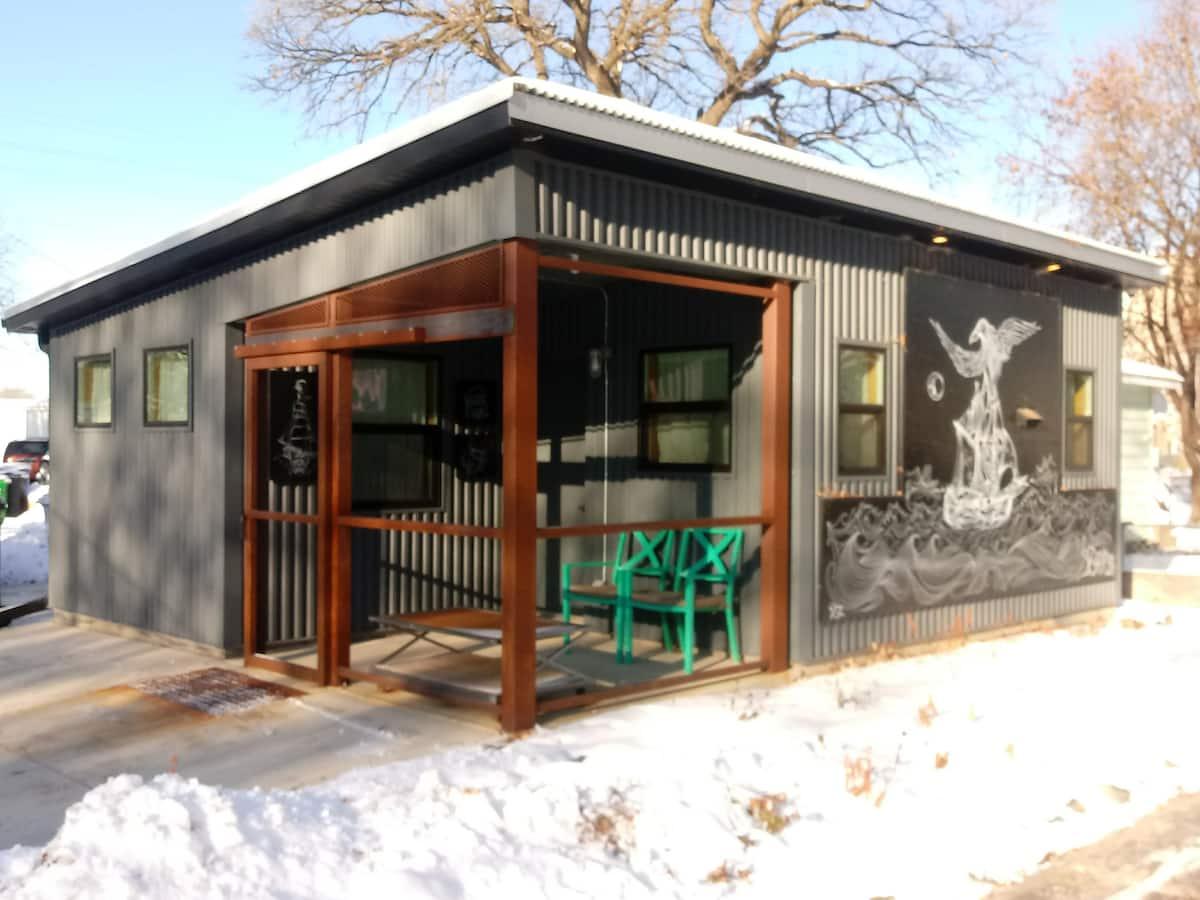 Minnesota Tiny Home Airbnb