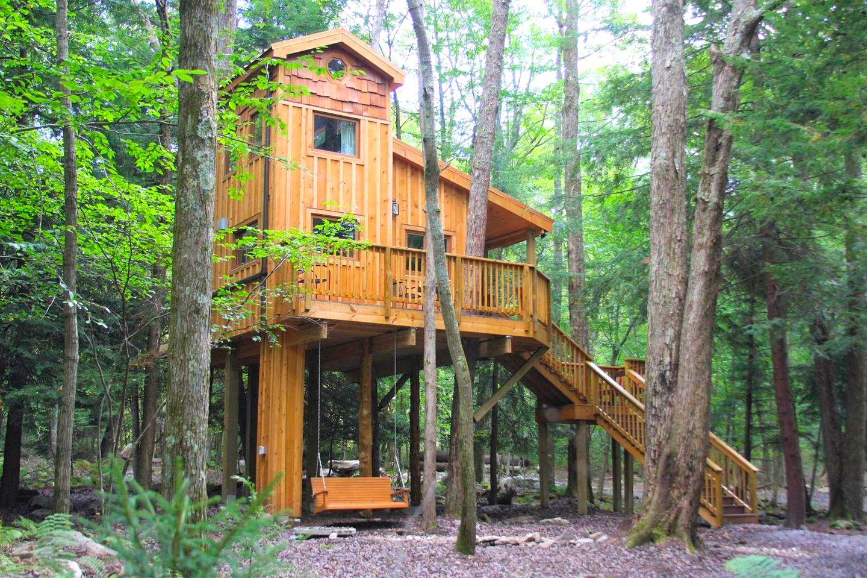 Treehouse glamping maryland