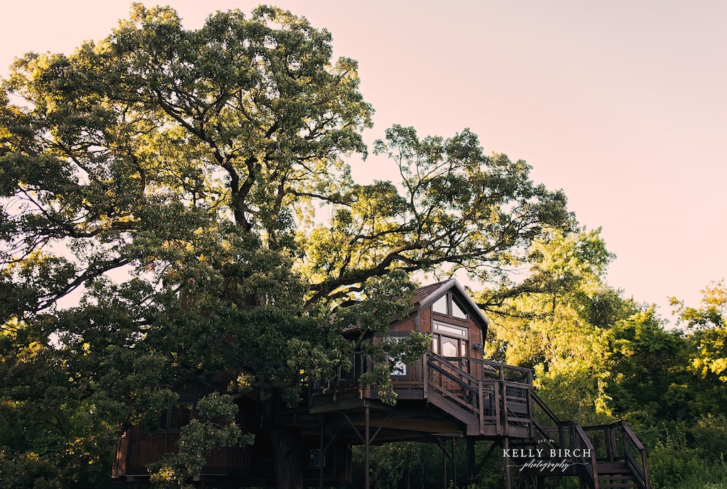 minneapolis minnesota luxury treehouse rental