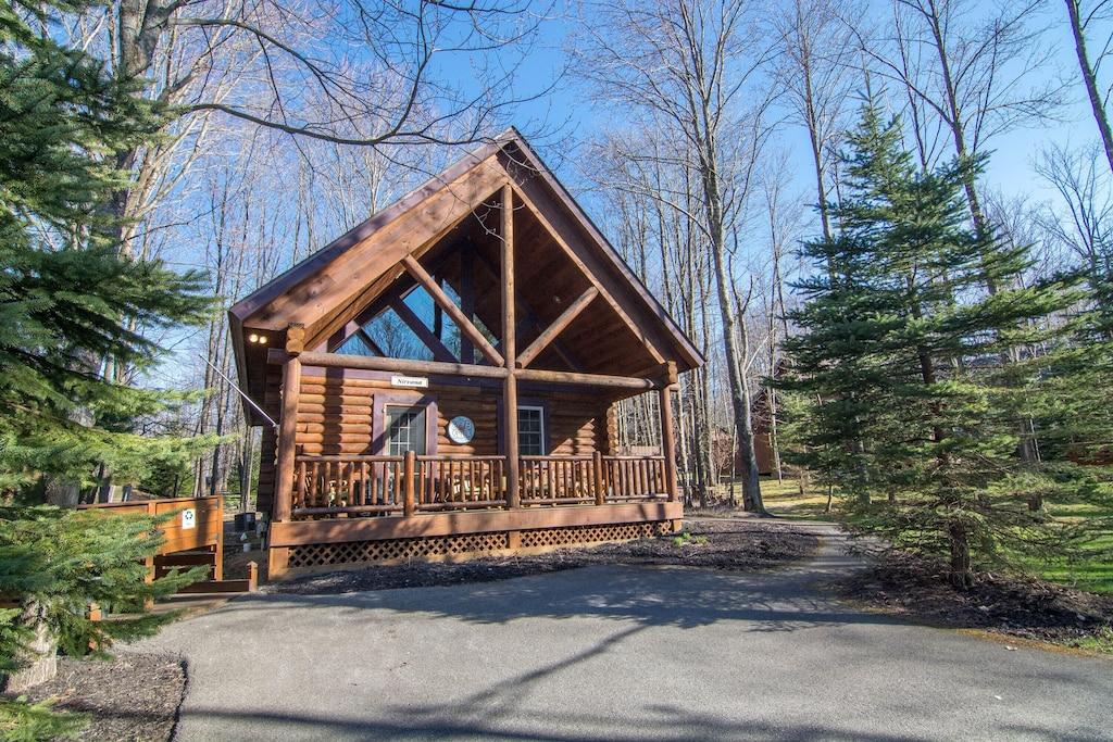 nirvana luxury glamping cabin maryland