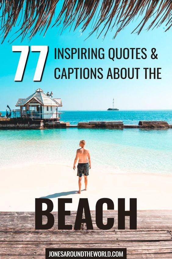 77 Beach Quotes Instagram Captions