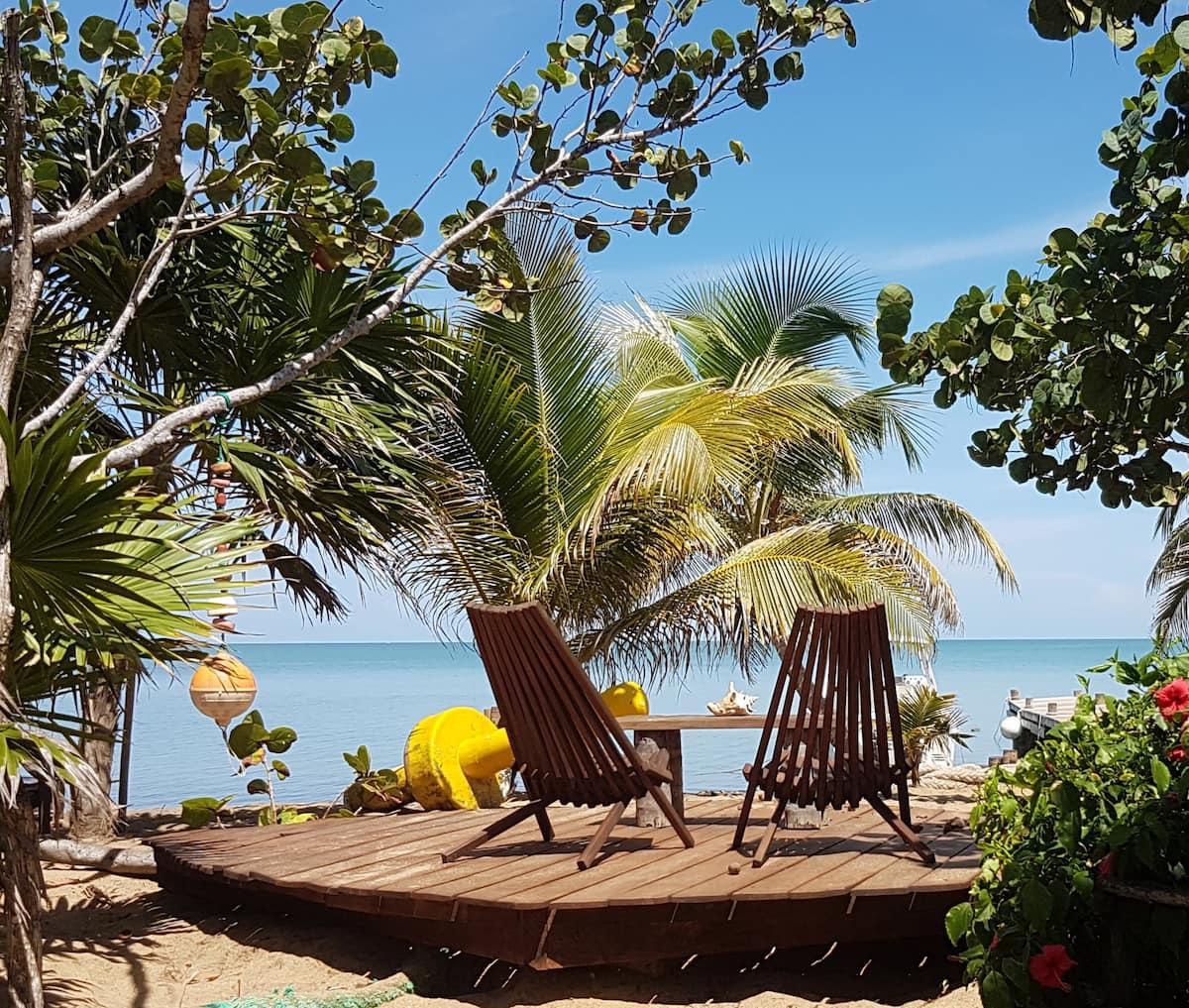 Beach Bungalow Airbnb Belize