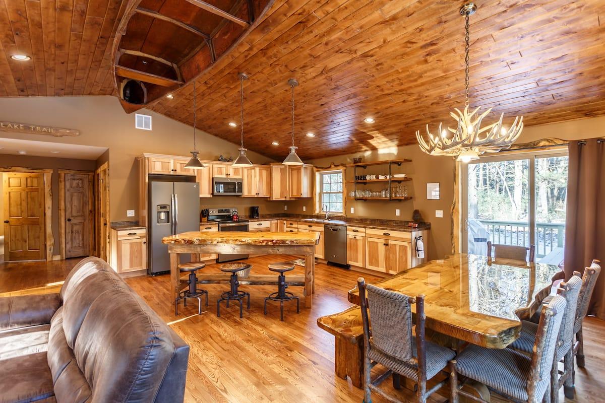 Luxury Cabin Wisconsin Dells Airbnb