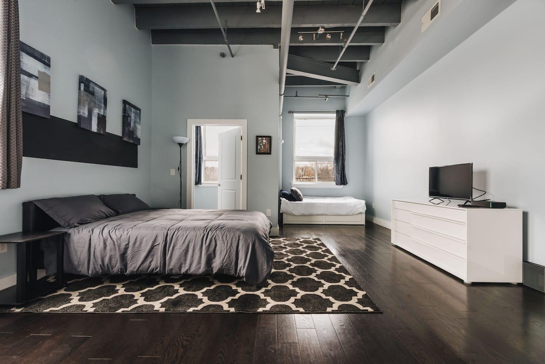 New Jersey Airbnb Loft