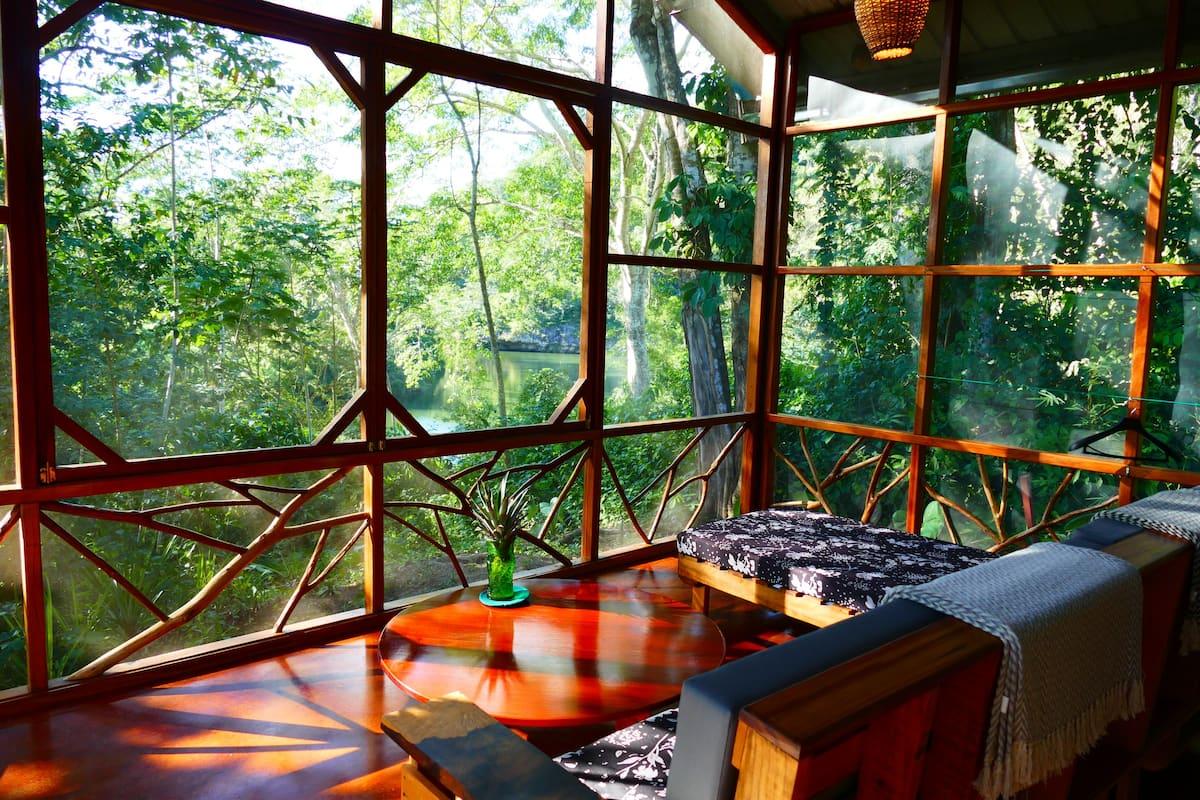 Unique Airbnb in Belize