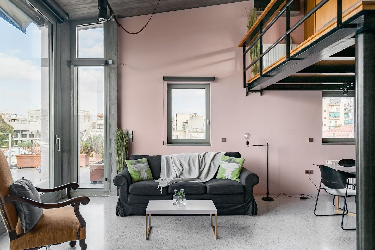 Awarded Loft in the Center of Athens Airbnb Greece
