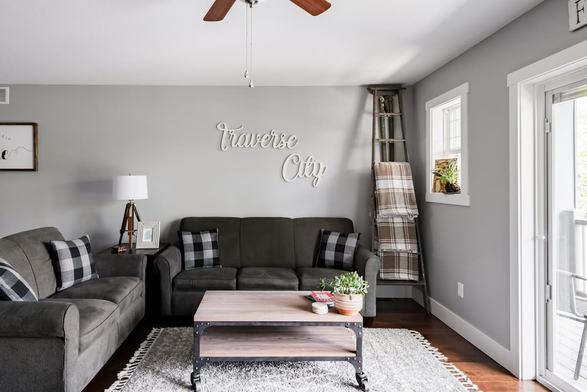 Chic Midtown Traverse City Airbnb