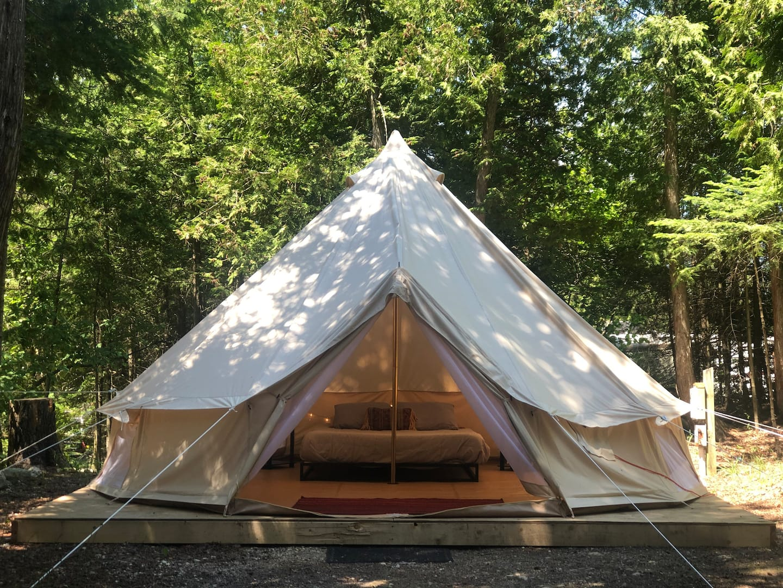 Glamping Airbnb Mackinac Island