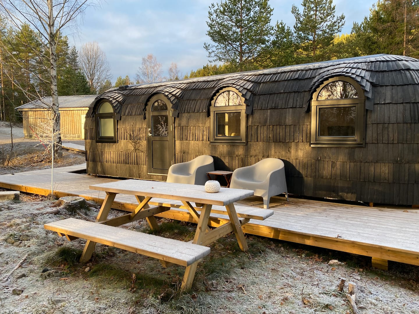 Hobbithus Tiny Home Airbnb in Norway