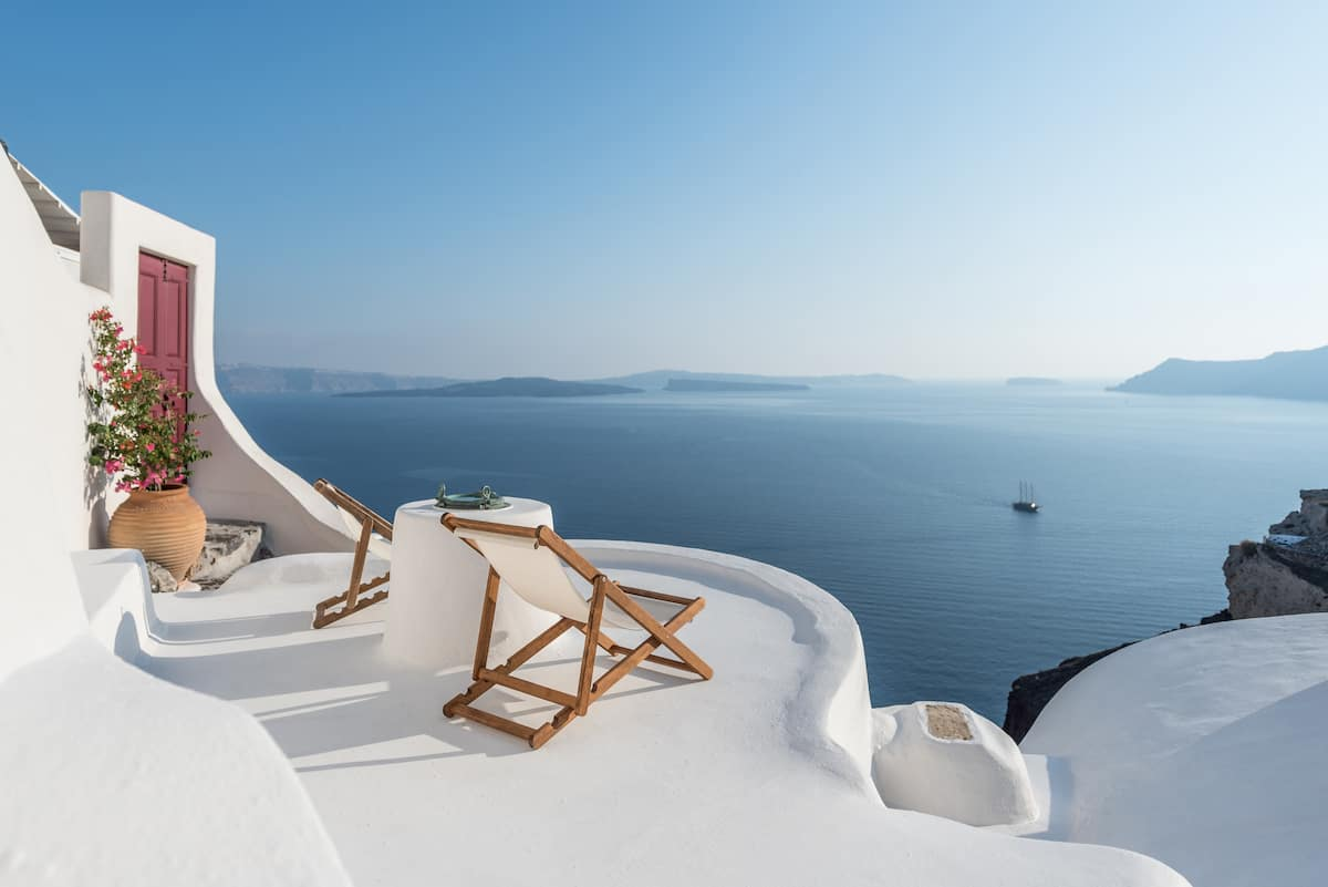 Luxury Airbnb Greece Santorini