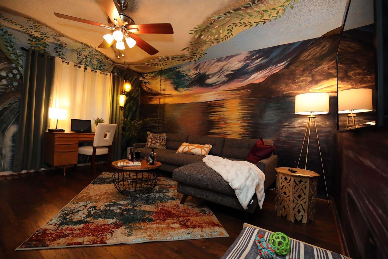 Most Stylish Airbnb in Springfield Missouri