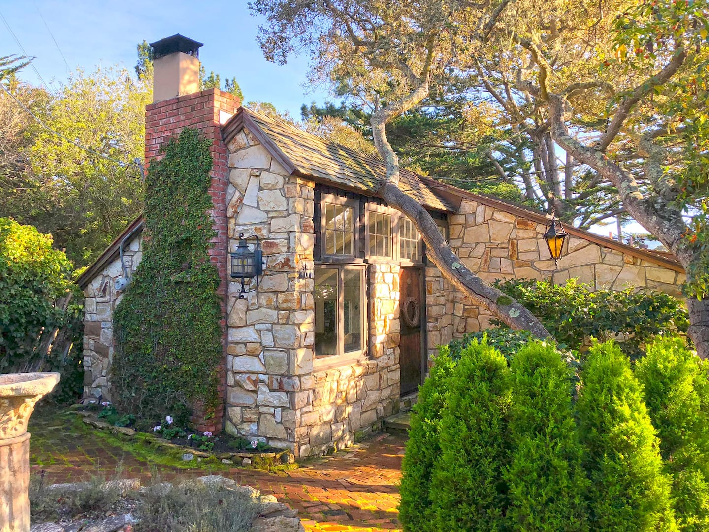 Quintessential Carmel Stone Cottage Airbnb