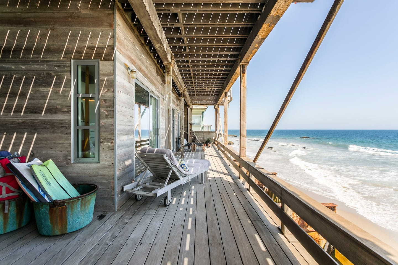 Romantic Beachfront Apartment in Malibu Airbnb