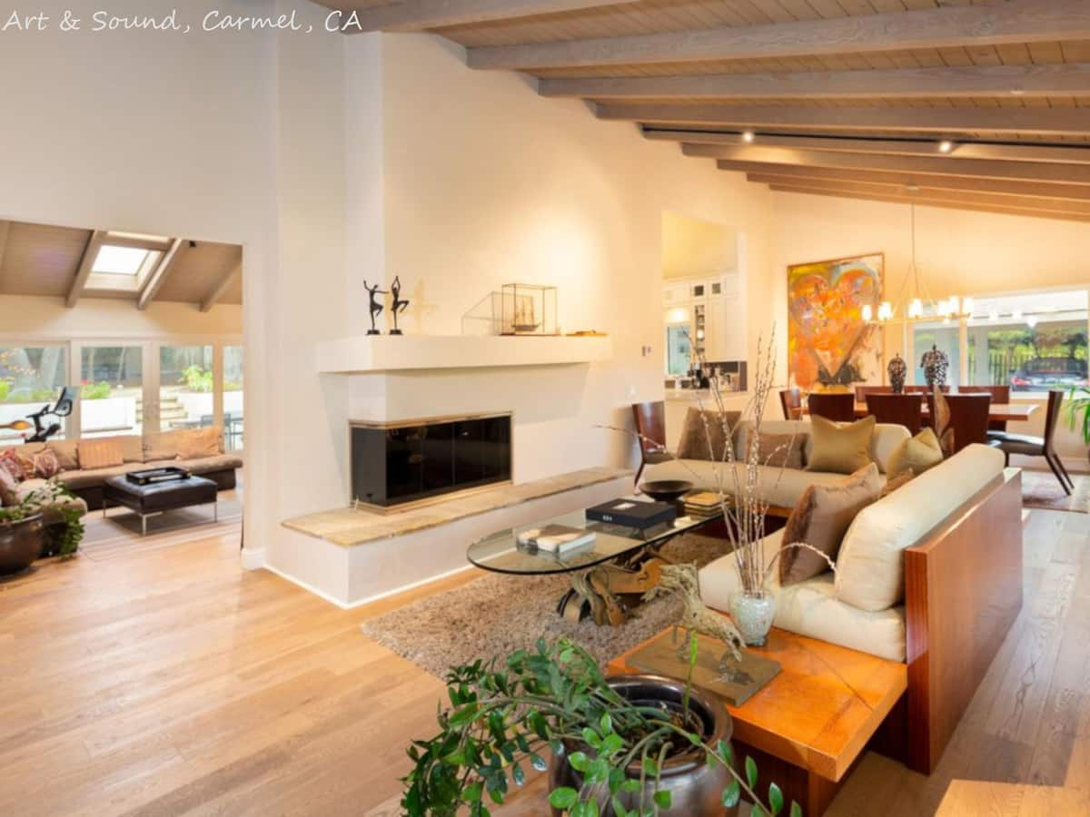 Secluded Carmel Five bedroom home