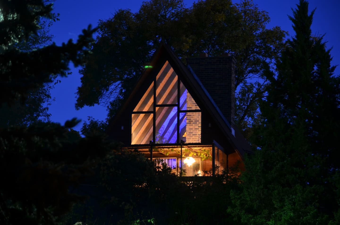 Unique A-Frame Cabin Airbnb in Madison WI