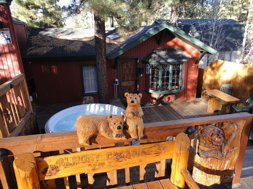 big bear california romatic rental