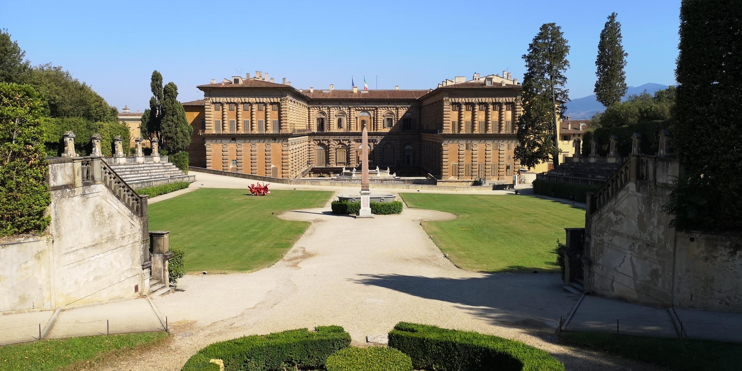 boboli gardens palazzo pitti florence