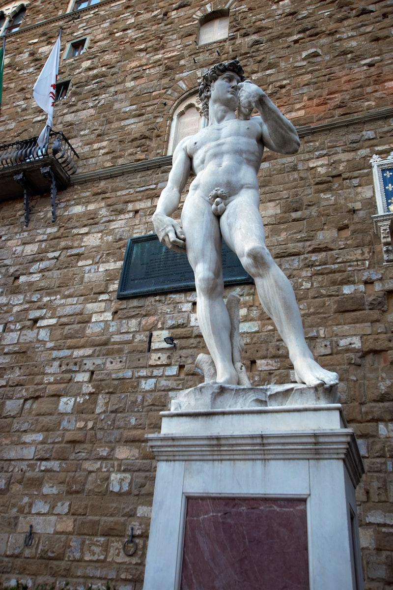the david piazza della signoria florence