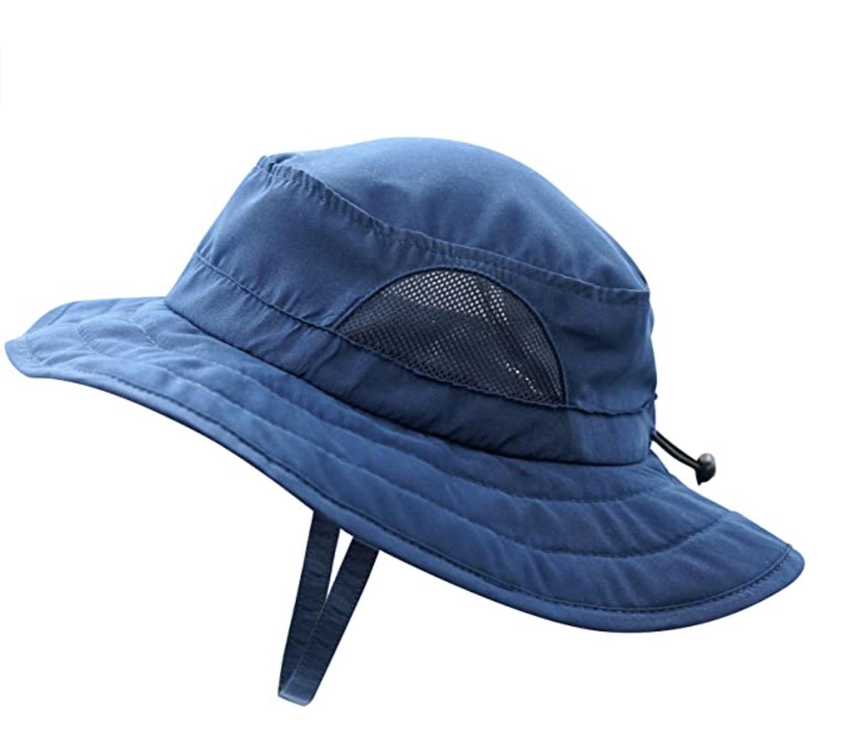 Kids UPF 50+ Bucket Sun Hat UV Sun Protection Hats Summer Play Hat