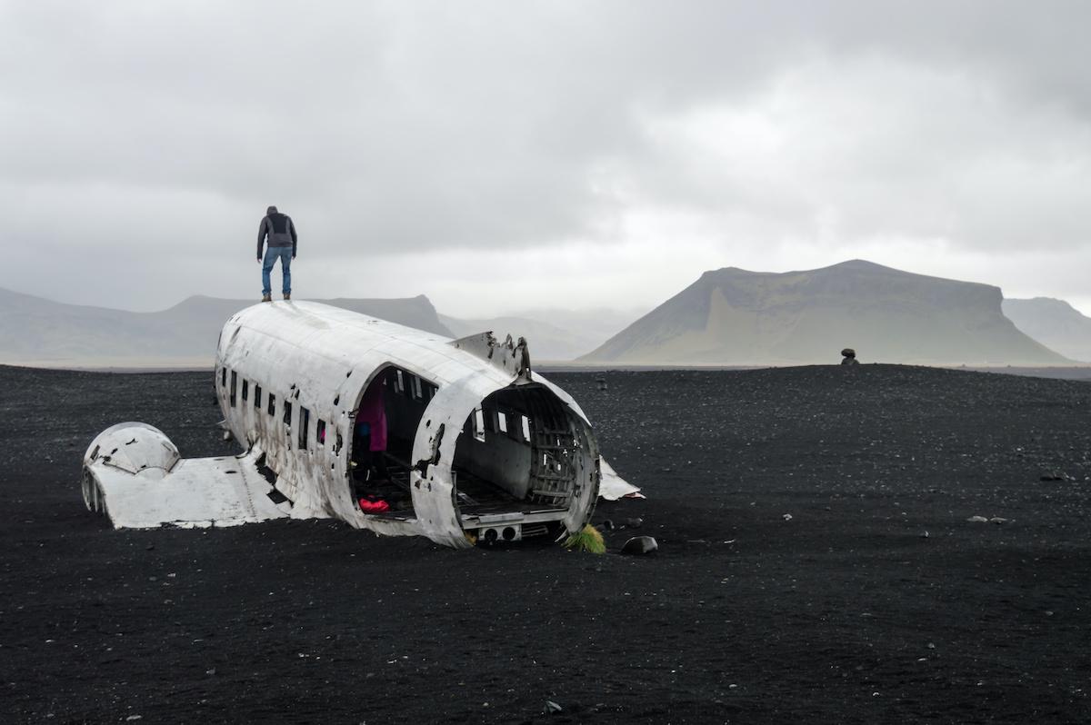The Solheimasandur Plane Wreck