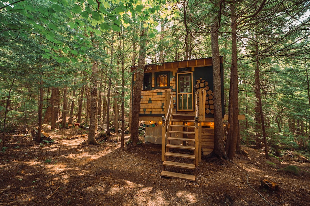 Treehouse Cabin in Vermont