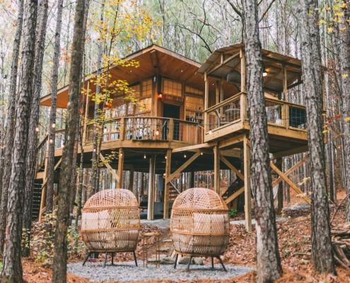 WANDERLUST TREEHOUSE Alabama