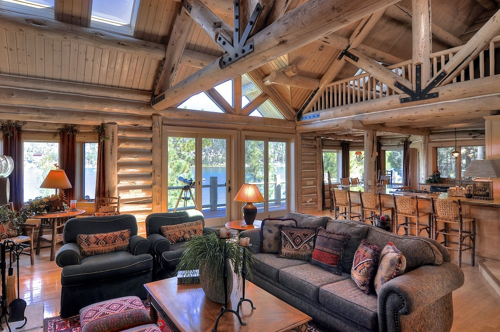 The Grand Big Bear Luxury Lakefront Cabin