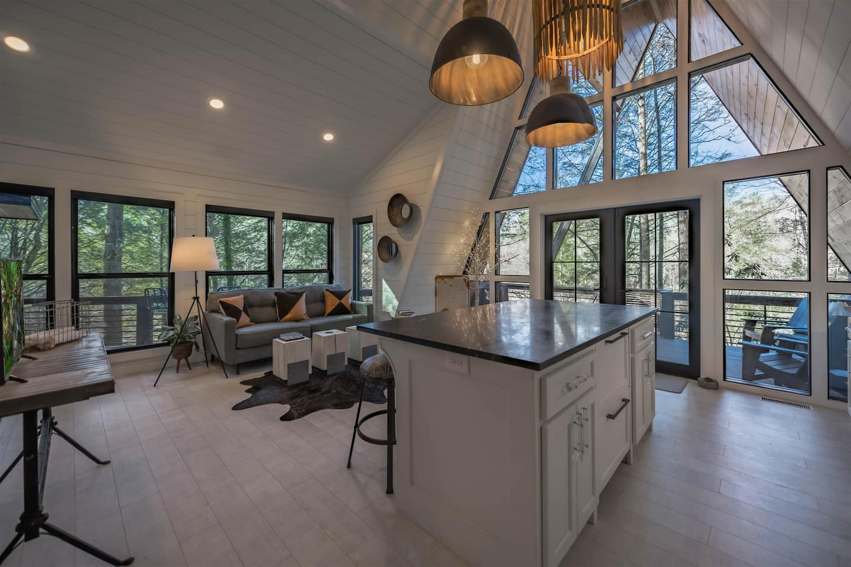 A-Frame Luxury Cabin Georgia Rental Airbnb