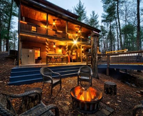 Big Timber Lodge - Luxury Cabin Rental in Georgia