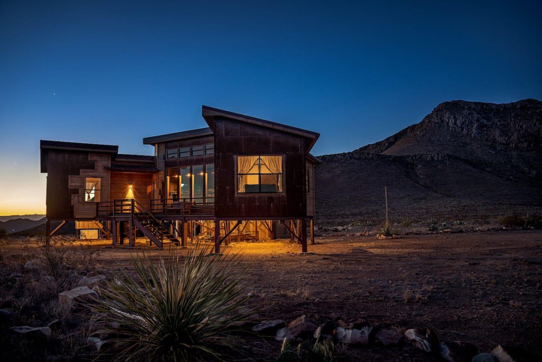 Boca De La Roca Mountain Ridge - Luxury Cabin Rental in Texas