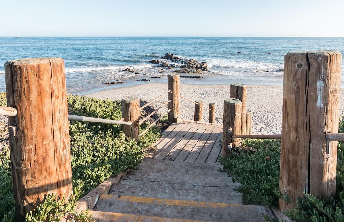 Carpinteria Coast Stairs