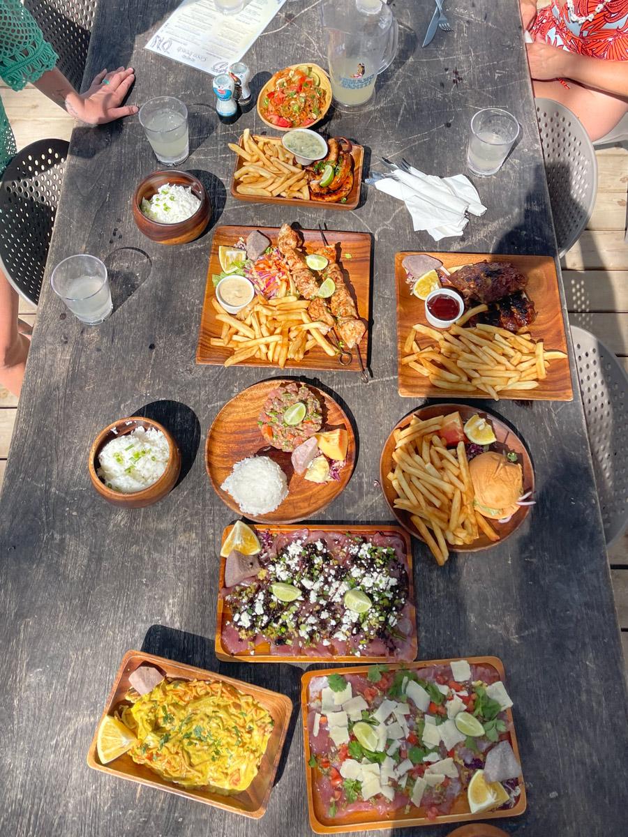 Coco Beach Moorea Restaurant
