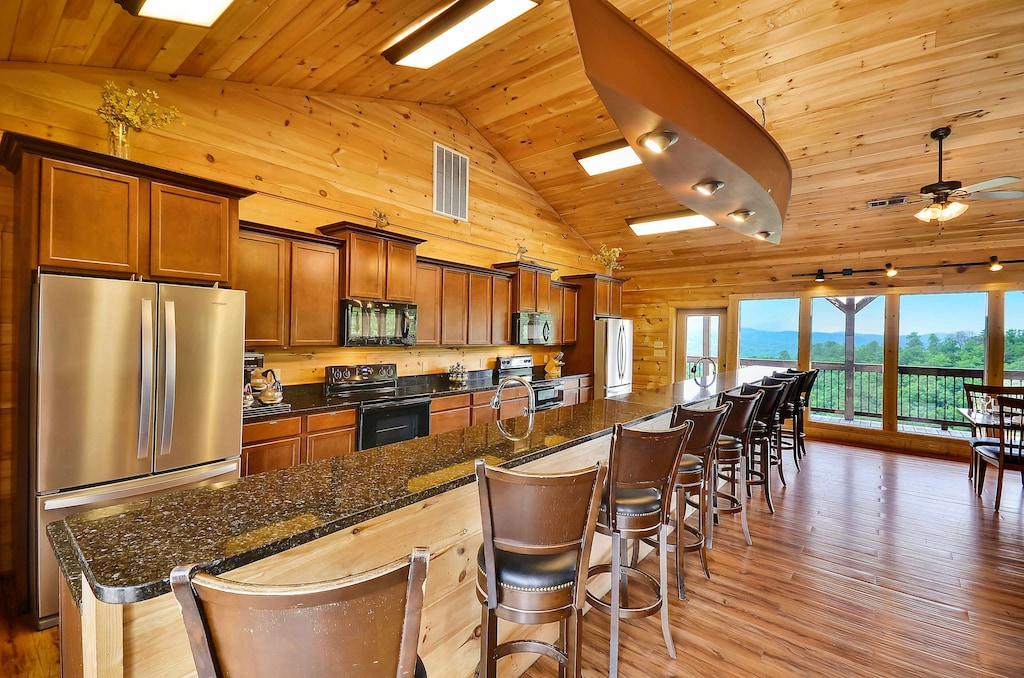 Coolest Luxury Cabin in Gatlinburg TN