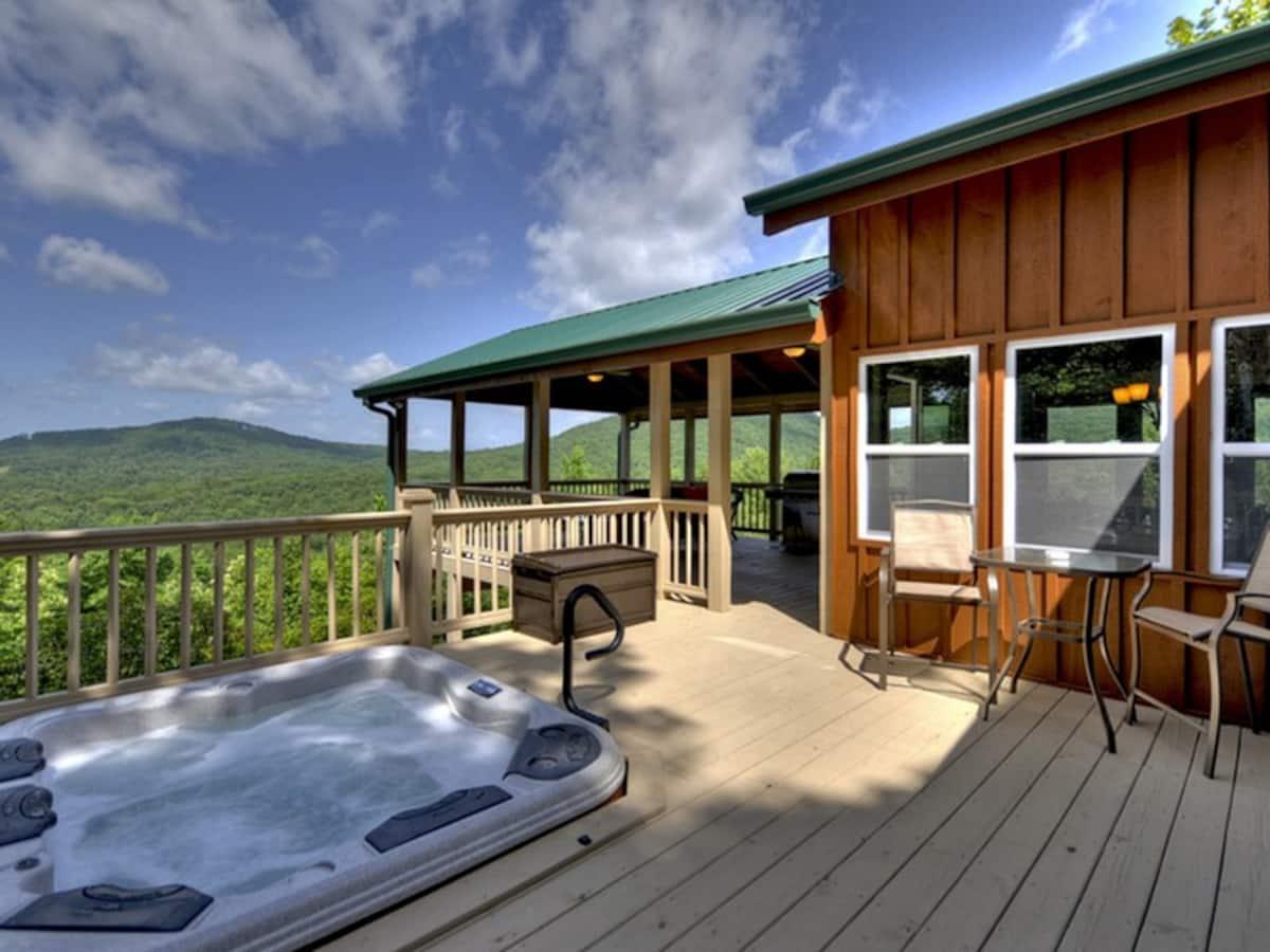 Fireside Bluff Cabin Rental in Georgia
