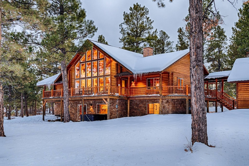 Luxury Cabin in Colorado with hot tub